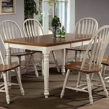 Beautiful Antique White Dining Set Coronado Antique White Double - Antique white pedestal dining table