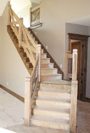 Wood Stair Banisters Preferential Stair Railing Designs Wood Stair N Stair Railing In