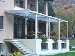 ingressi moderne tettoie in alluminio per terrazzi prezzi avec esterni balconi auto