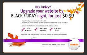 black friday domain sale thanksgiving sale at wix