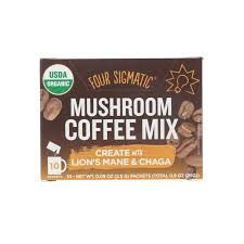 Coffee Mix four sigmatic coffee mix 10 packets 0 09 oz 2 5 g each