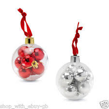 Large Baubles Christmas Decorations by Large Bauble In Christmas Tree Ornaments Ebay