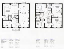 modern 2 story house plans amazing 4 bedroom 2 story house floor plans modern 4 bedrooms