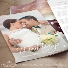 wedding magazine template wedding photography magazine template client welcome guide