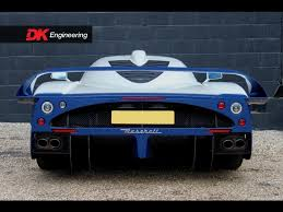 maserati mc12 blue vehicle archive maserati mc12 vehicle sales dk engineering
