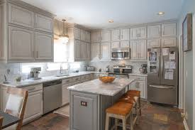 painting kitchen cabinets gray gray painted kitchen cabinets transitional kitchen