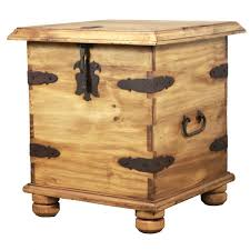 rustic pine end table rustic pine collection end table trunk lat106