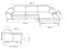 dimension canap dimension d un canape maison design wiblia com