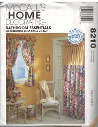 sewing patterns for home decor 8210 uncut vintage mccalls sewing pattern home decor bathroom