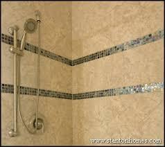 Tile Accent Wall Ideas  Bathroom Tile Trends Custom Tile - Bathroom tile designs 2012