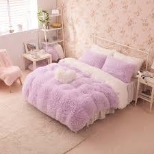 Girls Bedding Sets by Pink Color Bedclothes Princess Girls Bedding Set For Full Size Bed