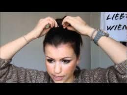 Frisuren Mittellange Haare Dutt by Der Dutt Für Kurzes Haar Tutorial