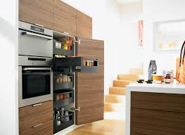 tower cabinets in kitchen fulfil your desire for more storage space with space tower blum by
