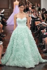 wedding dress colors lovely mint wedding bridebug