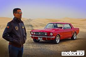 opel uae 1965 ford mustang in the middle east owned by uae fighter