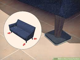 How To Get A Sofa Through A Narrow Door 3 Ways To Move Heavy Furniture Wikihow