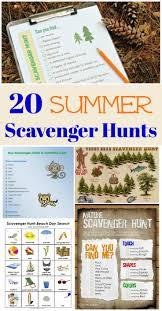 20 summer scavenger hunt ideas edventures with kids