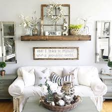 wall decorating ideas for living rooms decorate a large