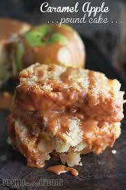 caramel apple pound cake creme de la crumb