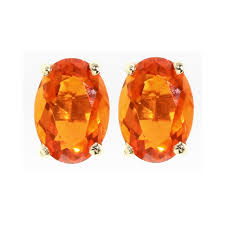 mexican fire opal fire opal earrings gold mexican fire opal earrings ebay