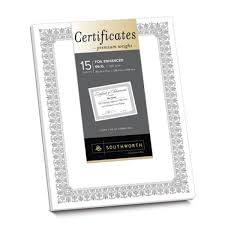 premium certificates fleur design shop southworth