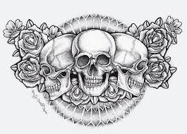 100 tattoo designs skull and roses tattoo designs skull