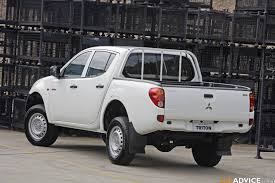 mitsubishi triton 2008 mitsubishi triton glx 2 5 diesel arrives photos 1 of 6