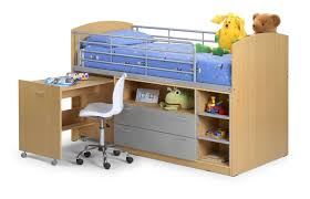Midi Bunk Beds Logan Midi Sleeper With Desk Sale Now On Your Price Furniture
