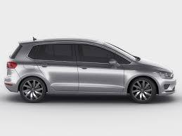 vw minivan 2014 vw golf sportsvan 2014 3d model cgtrader