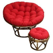 Papasan Ottoman Papasan Chair Cushion Wayfair