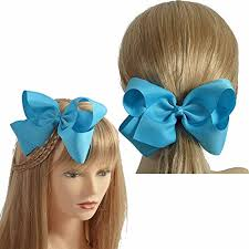 big bows for hair lclhb trendy big hair bows with oversized ribbon