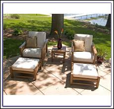 Patio Chairs With Ottomans Sling Patio Chair With Ottoman Patios Home Decorating Ideas