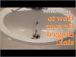 Clogged Up Bathtub Bathroom Sink Clogged Image Titled Restore Water Flow To A