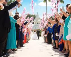 wedding wands wedding ribbon wands