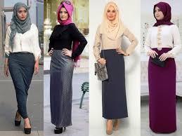 Baju Atasan Rok Levis 15 model rok span panjang terpopuler 2018 fashion modern 2018