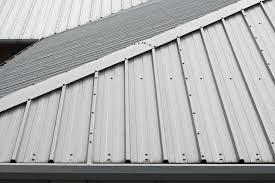 corrugated metal roof deck 47 with corrugated metal roof deck