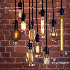 Livermore Light Bulb Free Shipping Edison Bulb Cable Socket 110v 220v Vintage Nostalgia