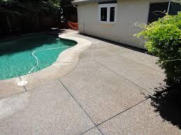 Exposed Aggregate Patio Stones Plum Creek Exposed Aggregate Patio Added To Pool Deck Solano