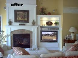 Over Fireplace Decor Living Room Fireplace Tv Decorating Ideas Over Fireplaces U2013 Smrtphone