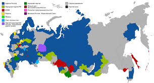 Election 2016 Map by File 2003 Russian Legislative Election Constituency Map Svg