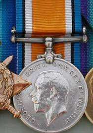 the british campaign medals of ww1