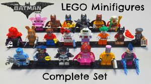 batman lego movie minifigures complete u0026 bump codes