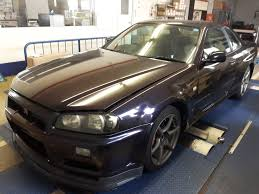nissan purple nissan skyline gt r midnight purple ii gf bnr34 jdmcars