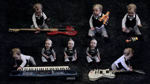 band baby creates second for his s one baby band