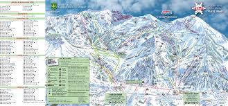 Mammoth Map Mammoth Mountain Trail Map Mammoth Mountain Ski Area Trail Map