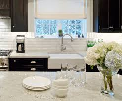 stylish white acrylic single rectangle farmhouse sink with