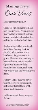 marriage prayers for couples marriage prayer to hold fast to our vows http becomeyourbest