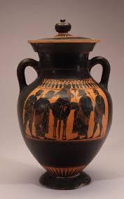 Greek Black Figure Vase Painting Black Figure Vase Warriors New Orleans Museum Of Art
