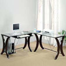 Contemporary L Shaped Desks Shop Coaster Furniture Contemporary L Shaped Desk At Lowes