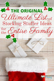 ultimate list of stocking stuffer ideas for the whole family 600